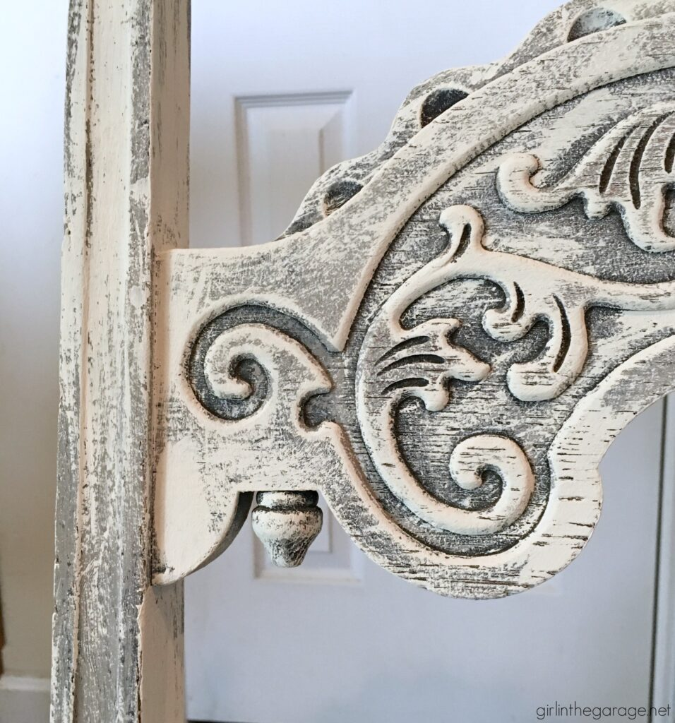 Antique painted chair makeover with Chalk Paint - Girl in the Garage