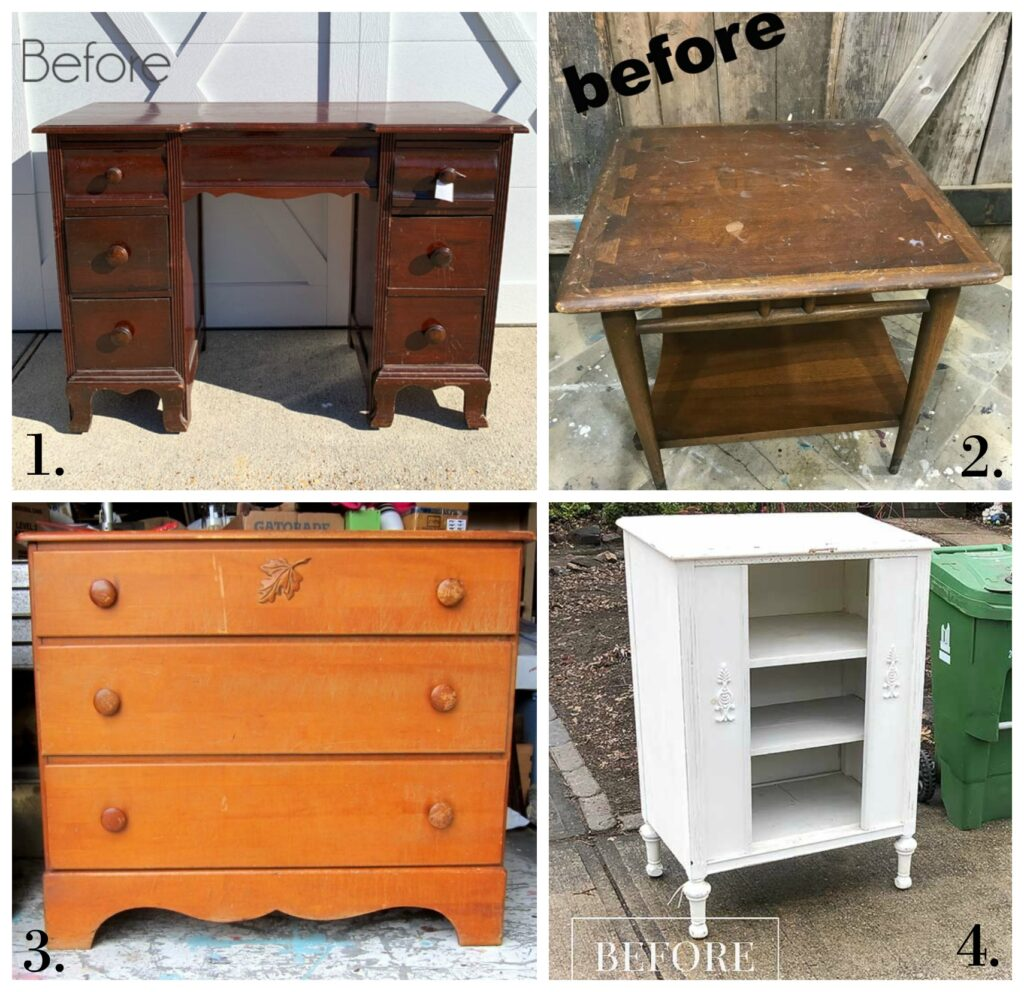 Furniture Fixer Uppers - March 2020