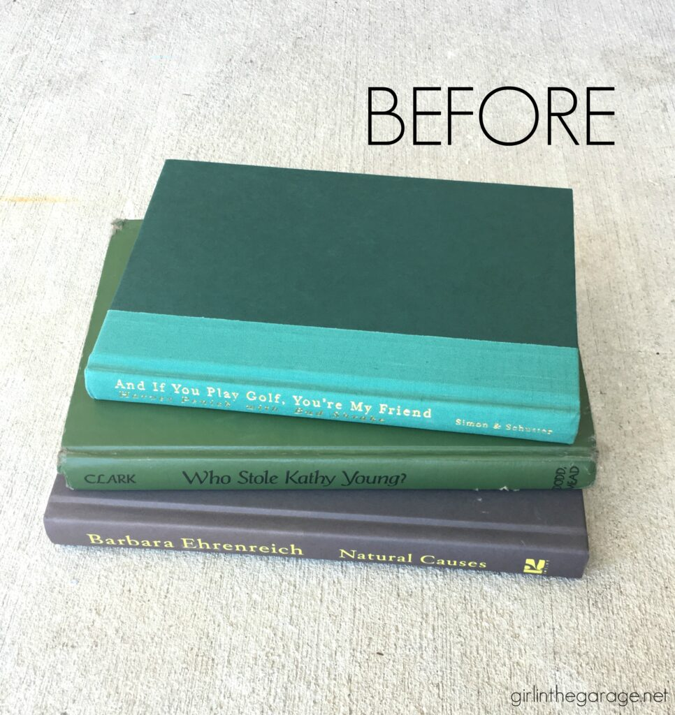 Repurposed book project ideas by Girl in the Garage