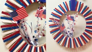 Clothespin 4th of July Wreath | Mommy Evolution