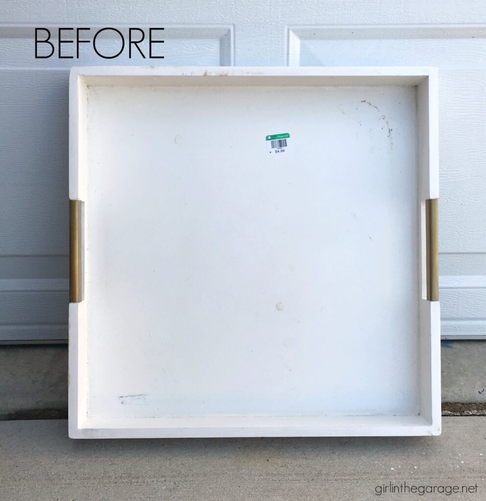Create unique and stunning home decor with these budget-friendly repurposing ideas. DIY home decor and painted furniture ideas by Girl in the Garage