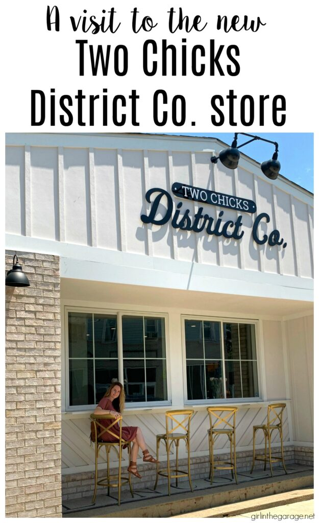 What's it like to visit the new Two Chicks District Co store in Indianapolis, owned by Mina Starsiak Hawk of HGTV's Good Bones? By Girl in the Garage
