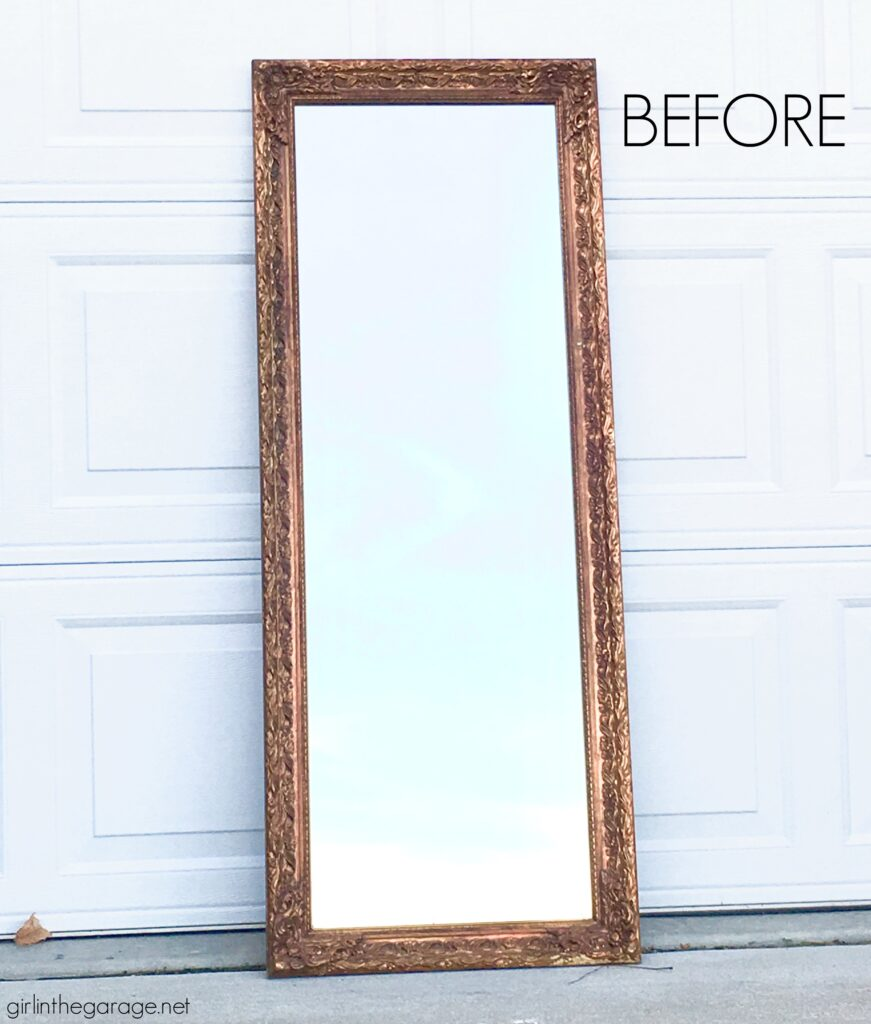 Painting A Mirror Frame Easy Yet Stunning Ideas Girl In The Garage