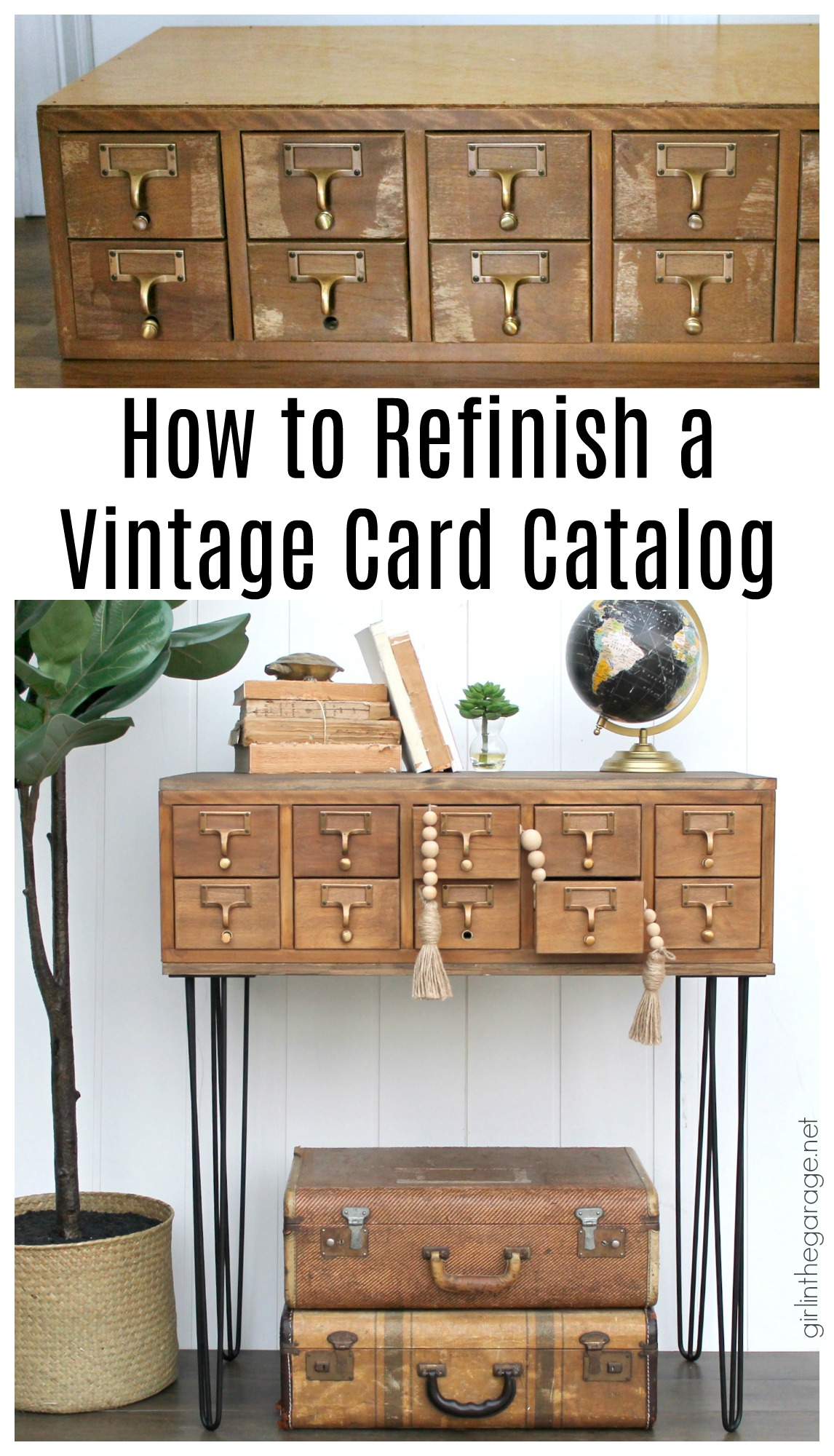 Most Popular DIY Projects of the Year - DIY furniture makeover and decor ideas by Girl in the Garage