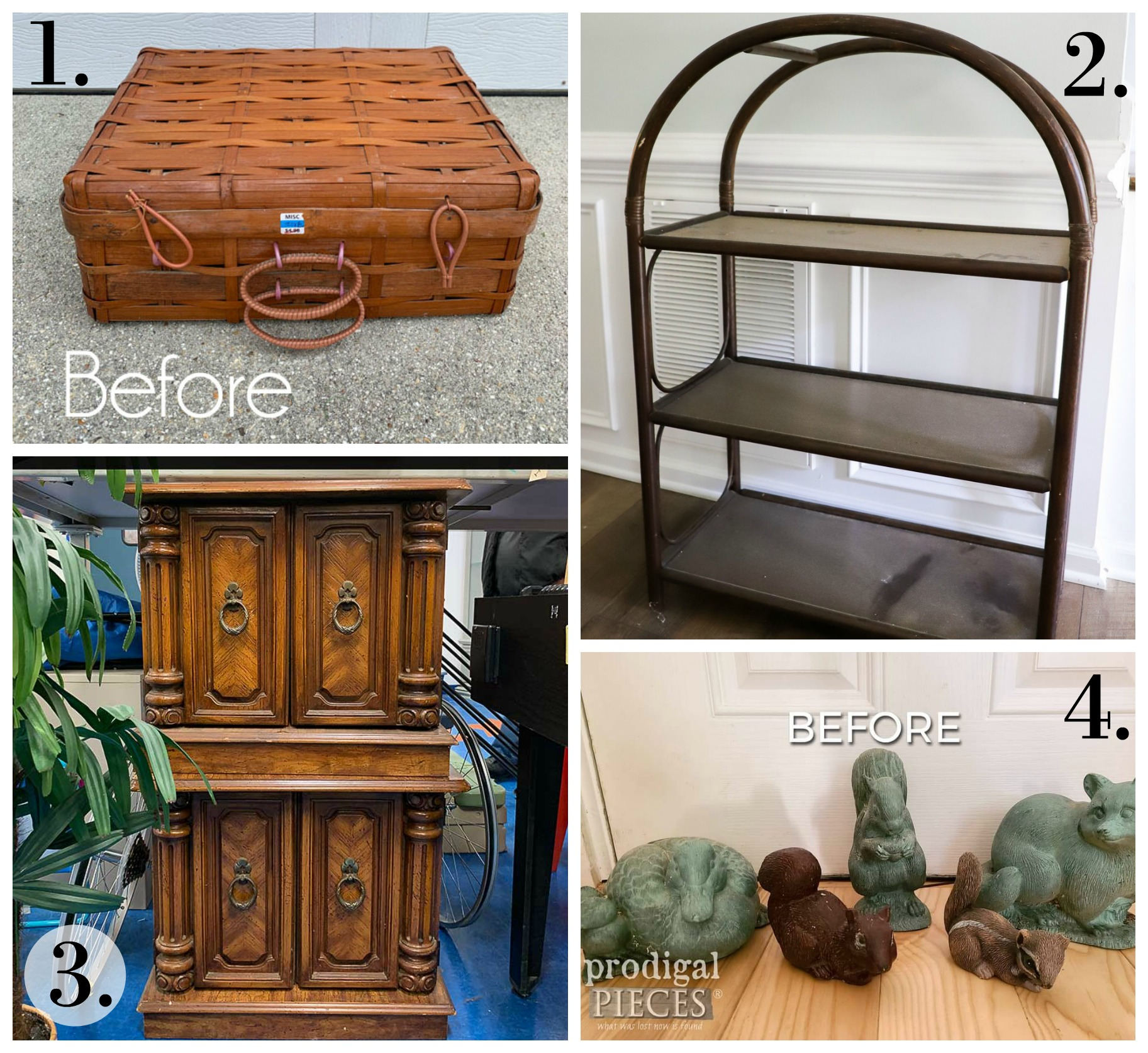 Trash to Treasure Makeovers - Girl in the Garage