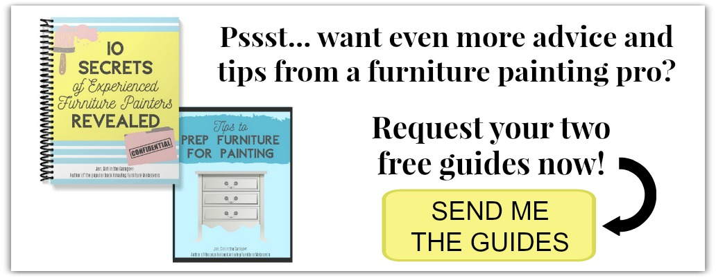 Free furniture painting guides by Girl in the Garage