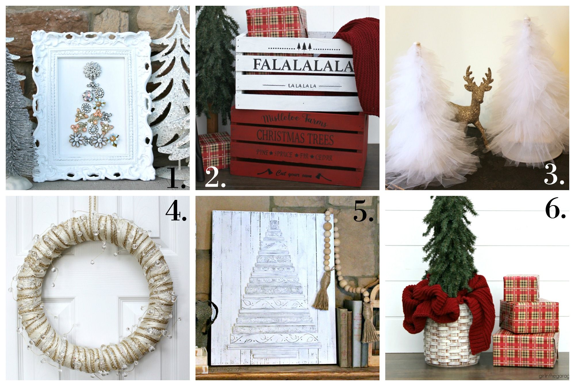 DIY Christmas decor project ideas from Girl in the Garage