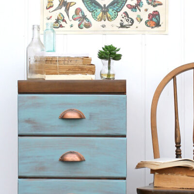 Refinished Dresser in the Minwax Color of the Year