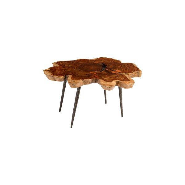 Burl wood coffee table - Wayfair