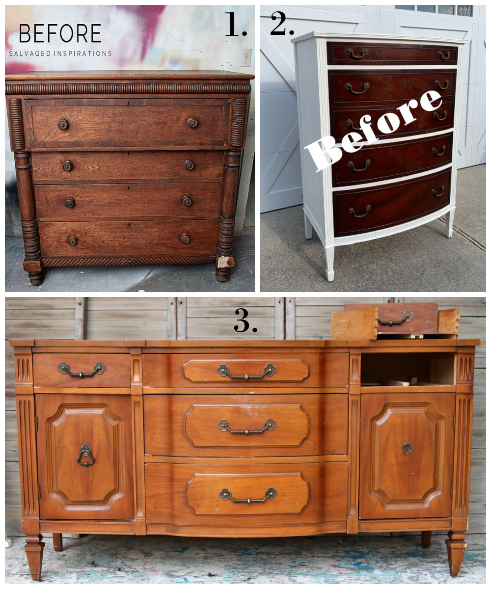 Furniture Fixer Uppers - Painted furniture ideas
