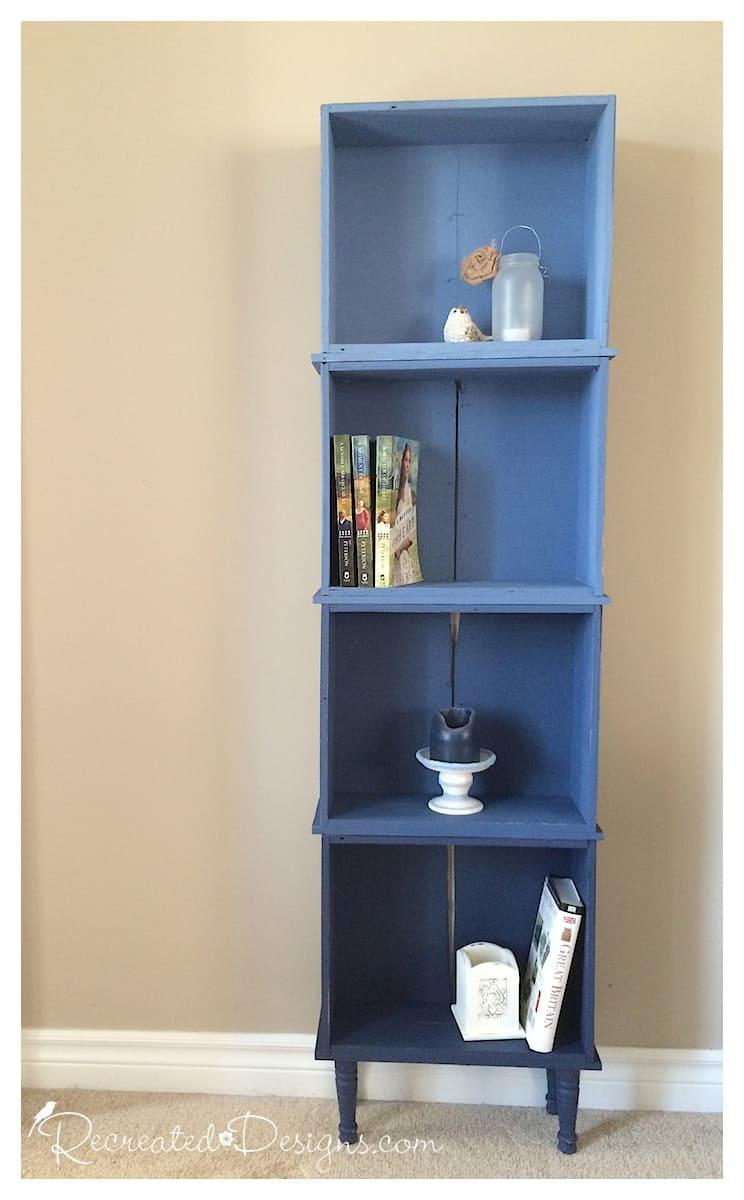 Bookshelf drawers by Recreated Designs