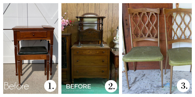 Furniture Fixer Uppers - Furniture makeovers August 2021