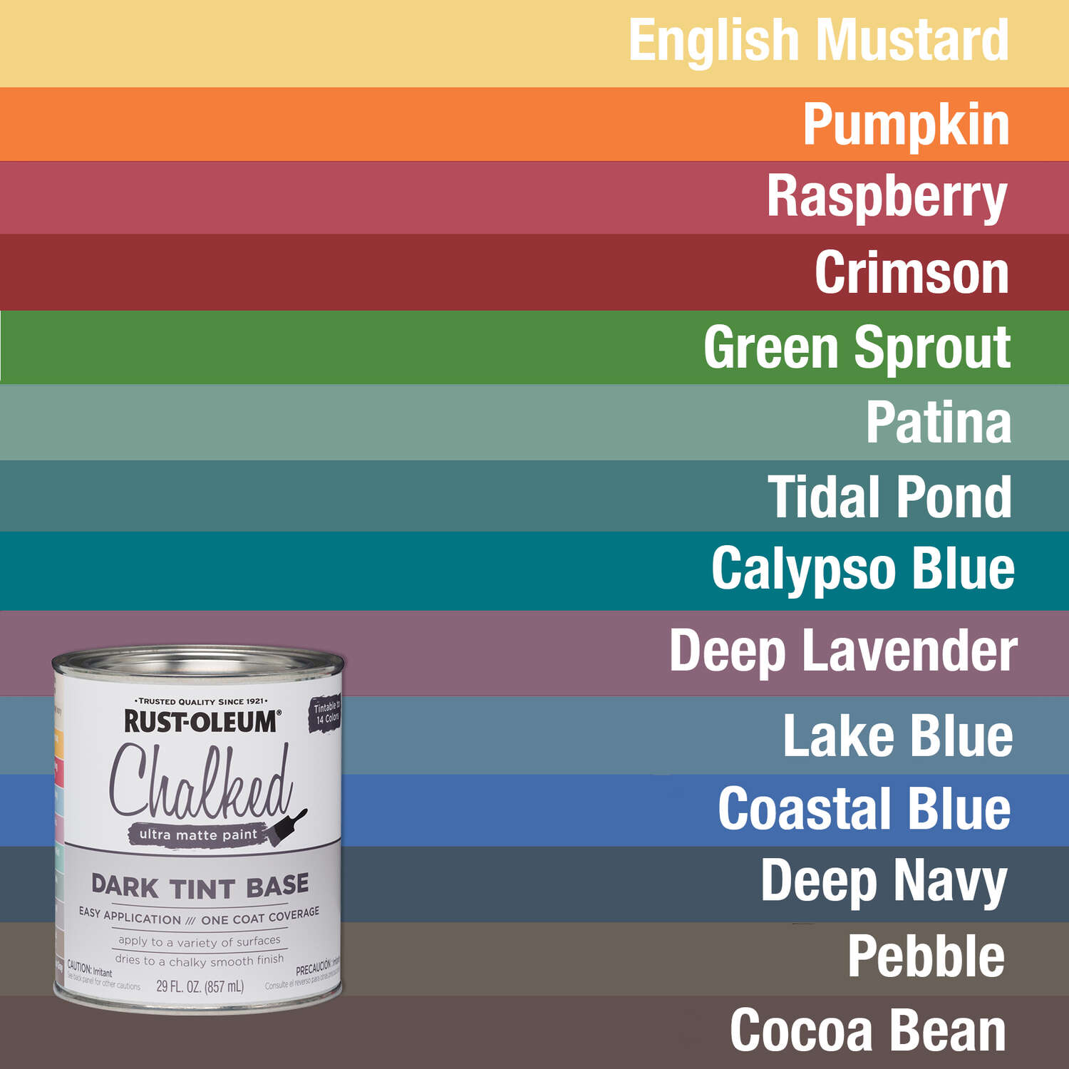Rustoleum Chalked Paint - Dark Tint Base Colors - Review by Girl in the Garage